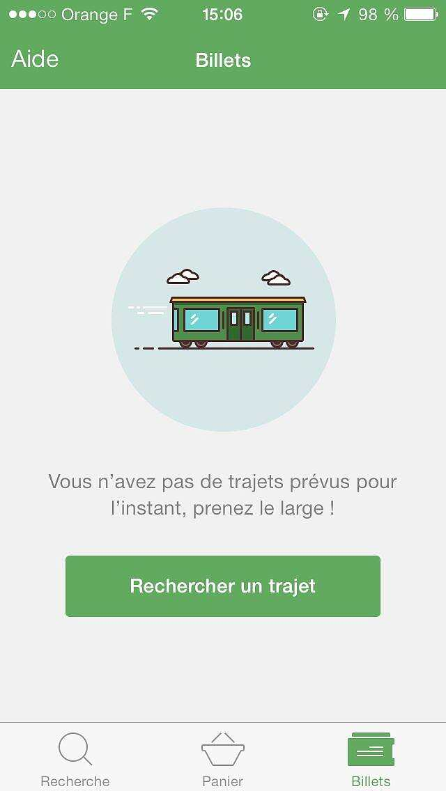 Capitaine train app ...