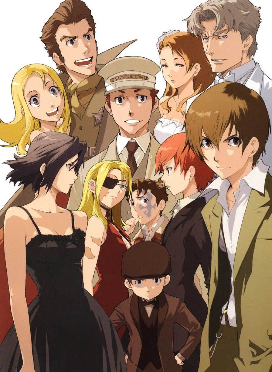 Image result for baccano anime