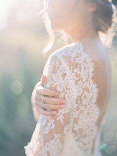 Ethereal lace weddin...