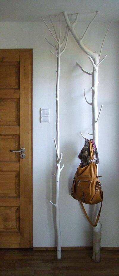 DIY - wooden coat ra...